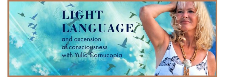 Light language banner