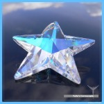 "Crystal star ""Wings of the Holy Spirit"""